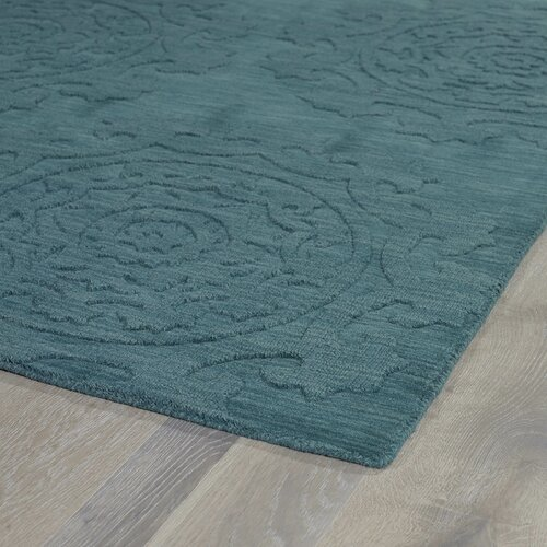 Kaleen Helena Turquoise Area Rug Reviews: Kaleen Imprints Classic Turquoise Solid Area Rug & Reviews