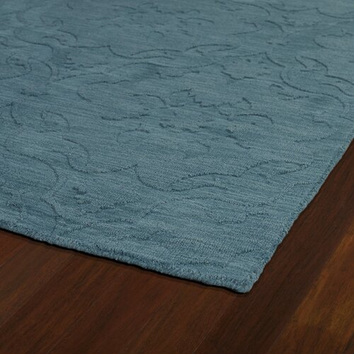 Kaleen Imprints Classic Turquoise Solid Aera Rug & Reviews