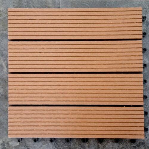 Vifah Composite Teak 12 X 12 Deck Tiles Reviews Wayfair