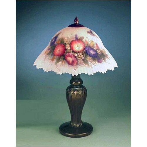 Dale Tiffany Glynda Turley Hummingbird And Flower 19 Quot H
