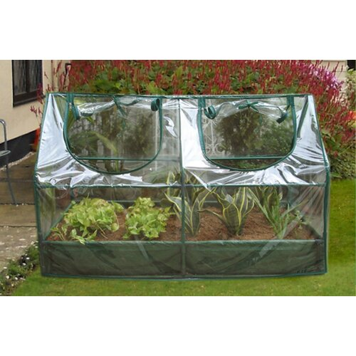 Zenport 3.92 Ft. W X 2 Ft. D Cold Frame Greenhouse