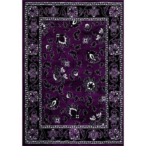 Persian-rugs Purple Area Rug & Reviews