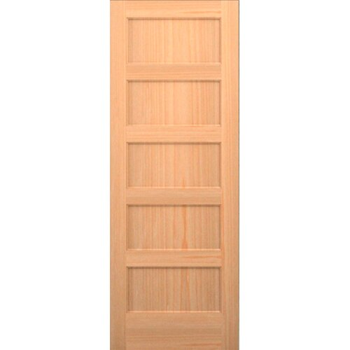 Karona Wood 5 Panel Interior Door Reviews Wayfair