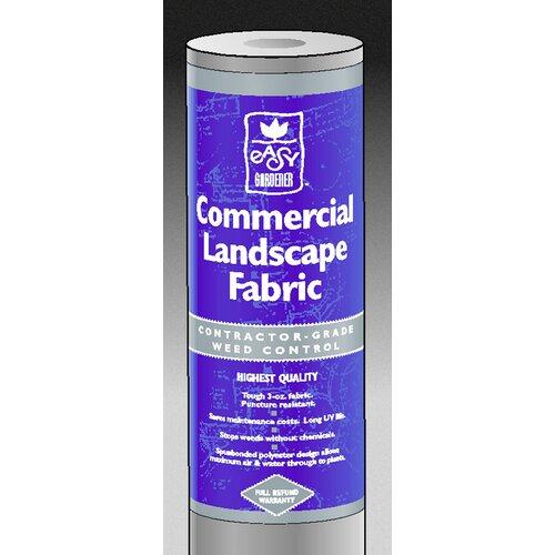 Commercial Landscape Fabric: Weedblock Commercial Landscape Fabric