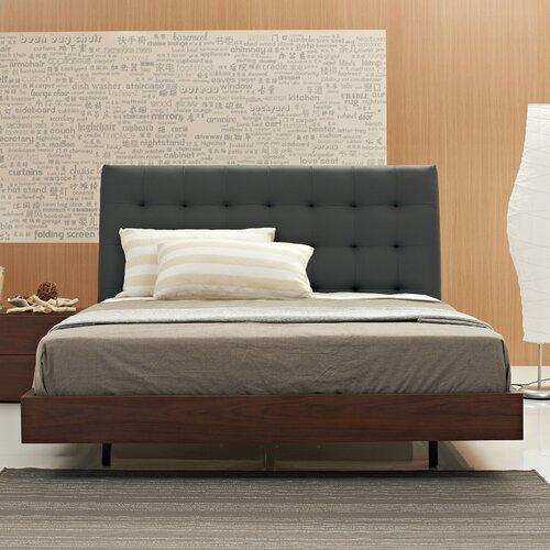 Argo Furniture Bella Queen Upholstered Platform Bed