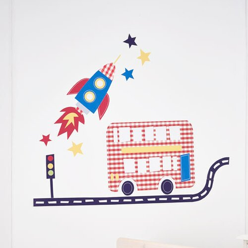 Fetch The Engine Room Make Over Kit Wall Decal by Fun To See