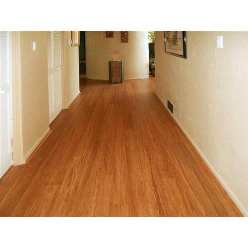 4 1 2 solid bamboo hardwood flooring in carbonized wayfair for Hardwood floors hurt feet