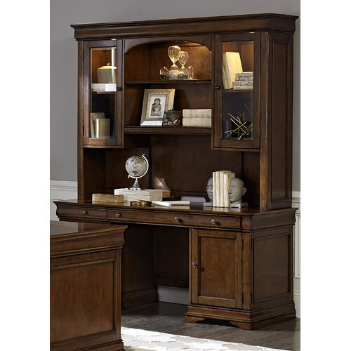 Darby Home Co Chateau Valley Jr Executive Credenza Desk