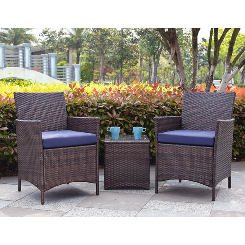 Garden Decor Newcastle: Varick Gallery Newcastle 3 Piece Deep Seating Group With