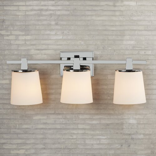 Brayden Studio Maynard 3 Light Bath Vanity Light & Reviews Wayfair