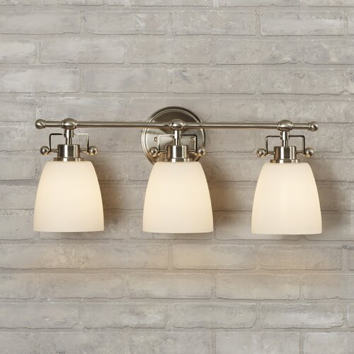 Brayden Studio Meyer 3 Light Bath Vanity Light Reviews Wayfair