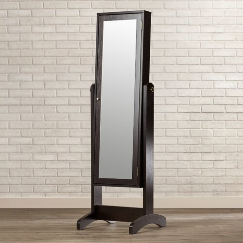 Noma Jewelry Armoire with Mirror by Brayden Studio