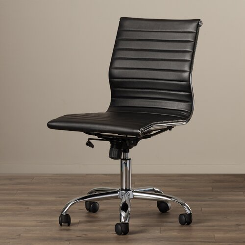 Alec High Back Office Chair With Built In Lumbar Support By Corrigan
