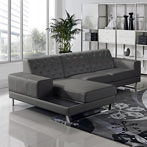 Container Stella Sectional Amp Reviews Wayfair