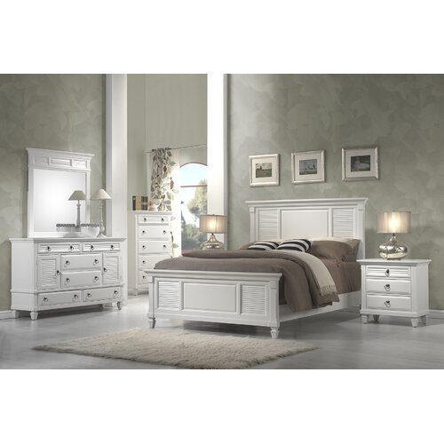Beachcrest Home Norfolk Panel Customizable Bedroom Set