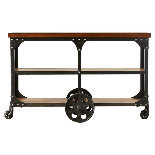 Wheeled Console Table ~ Trent austin design radner wheeled sofa table reviews
