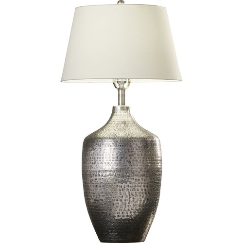 Hors d 39 oeuvres 33 5 h table lamp with empire shade wayfair for Lamp shades austin