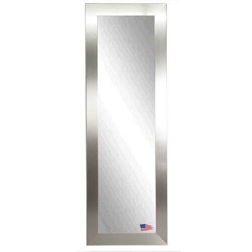 House of hampton silver wide full length body mirror for Silver full length mirror