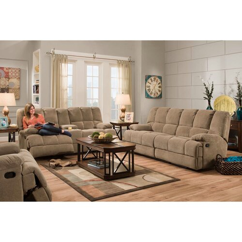 Penn 3 piece living room set wayfair for Living room 3 piece sets