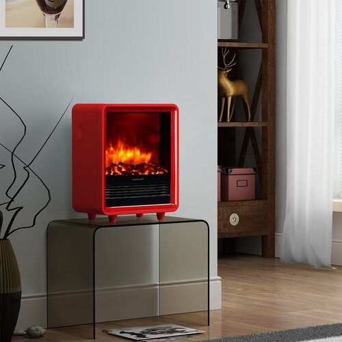 Small Portable Fireplace 16 Quot Free Standing Portable Small Size Electric Fireplace 16 Quot