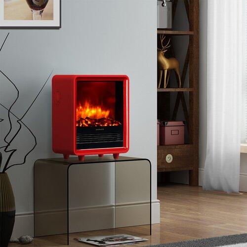 mini portable electric fireplace wayfair