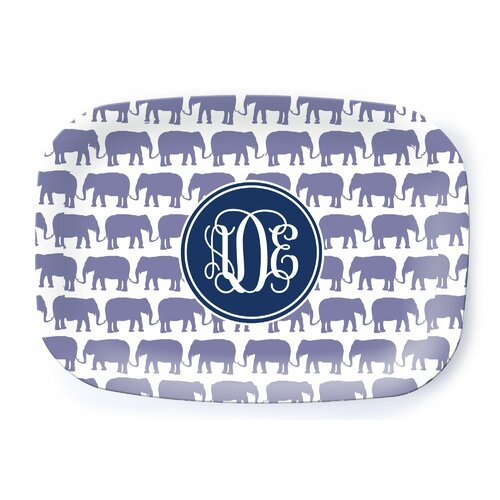 Milo gift shop elephant haze personalized platter reviews wayfair - Haze her shower ...