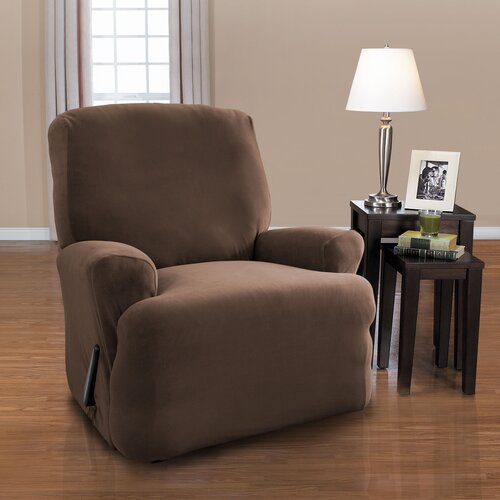 harper 4 piece recliner slipcover set wayfair