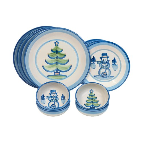 Hadley Winter Dinnerware Set