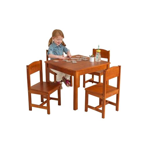 KidKraft Farmhouse Kids 5 Piece Table & Chair Set & Reviews