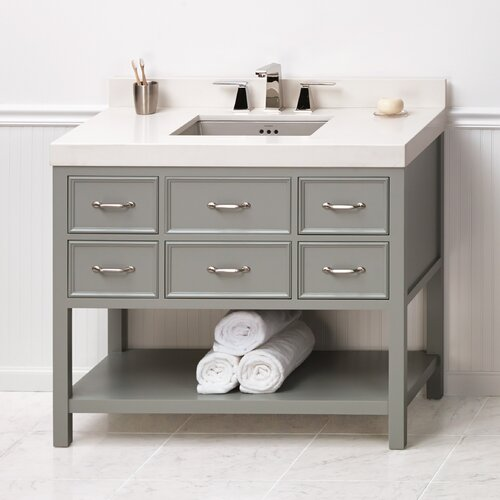 "Newcastle 42"" Bathroom Vanity Set"