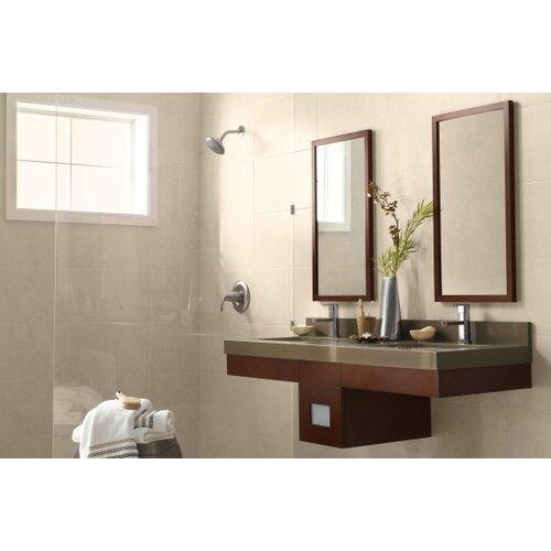 Ronbow Contemporary Solid Wood Framed Bathroom Mirror In Dark Cherry Reviews Wayfair