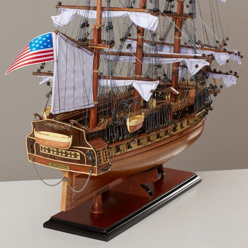 Breakwater Apartments: Breakwater Bay Medium USS Constitution Model Boat