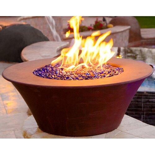 The Outdoor Plus Copper Gas Fire Bowl & Reviews   Wayfair