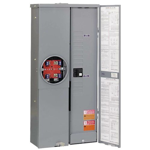 Manual Transfer Switch with Combo Service Entrance Device by Square D