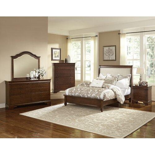 Bassett Furniture Bassett Va: Virginia House French Market Upholstered Bed & Reviews