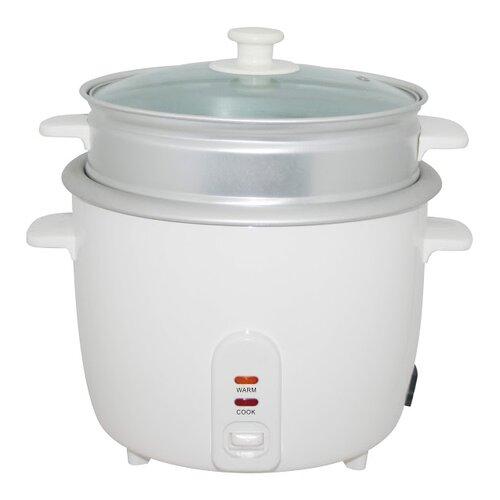 Electric Rice Steamer ~ Electric rice cooker with steamer cup wayfair