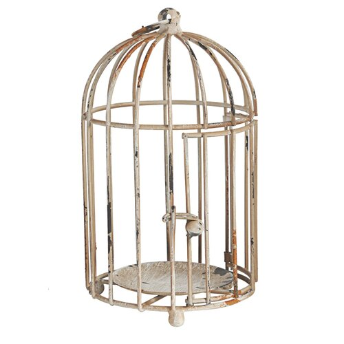 Established 98 Metal Decorative Bird Cage & Reviews  Wayfair