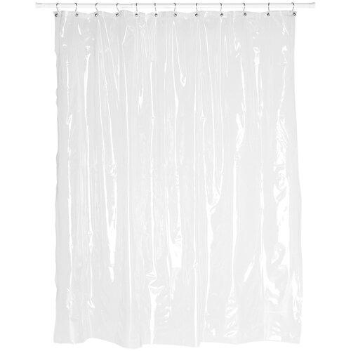 Symple Stuff Vinyl Shower Curtain Liner Reviews Wayfair