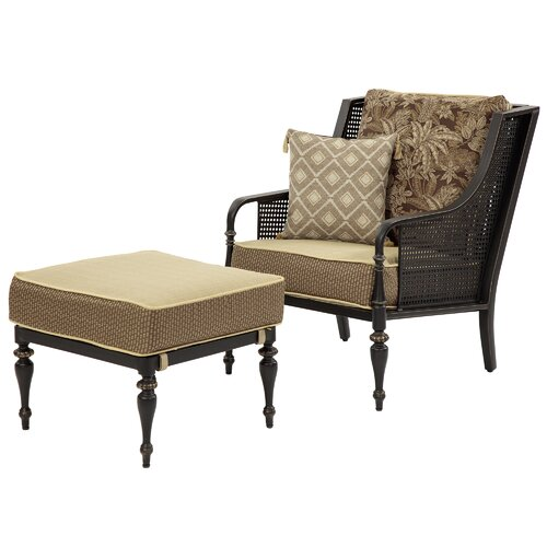 Ottomans Sherborne Ottoman Large: Sherborne 4 Piece Conversation Seating Group With Cushion