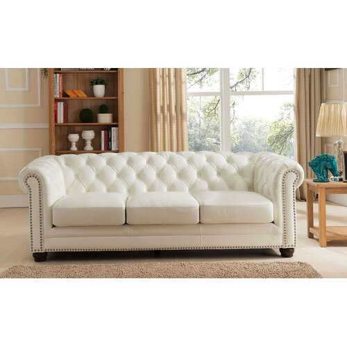 Contemporary Furniture Nashville: Nashville Leather Sofa