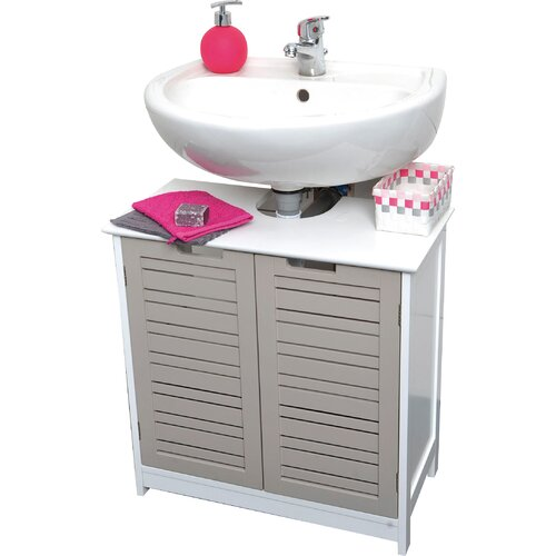 freestanding under sink bathroom storage evideco so 23 6 quot x 23 6 quot free standing cabinet 23229
