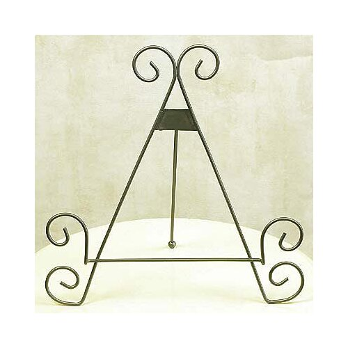 wrought iron tabletop display easel 2