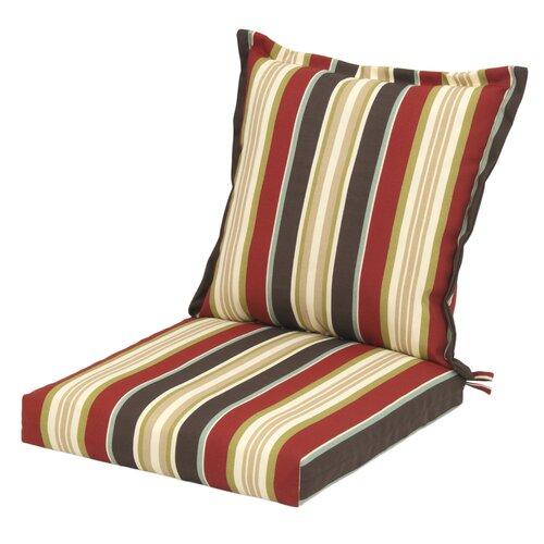 Plantation Patterns Majestic Stripe Deep Seating Chair ...