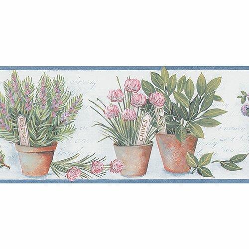 15 X 8 Quot Herb Style Border Wallpaper Wayfair