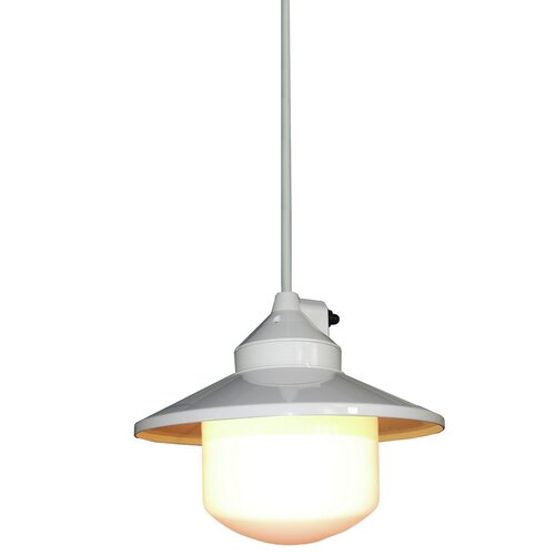 Portable Pendant Light with Shade Outdoor Hanging Lights