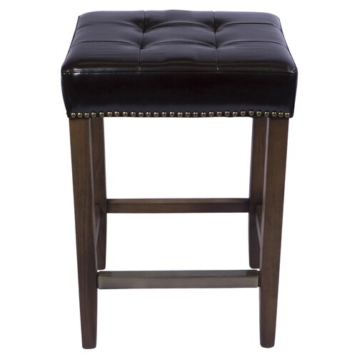Joseph Allen Nashville 26quot Bar Stool with Cushion  : Nashville Counter Stool Classic Brown Leather 262525E225258025259D PV VOSCL C from www.wayfair.com size 500 x 500 jpeg 27kB