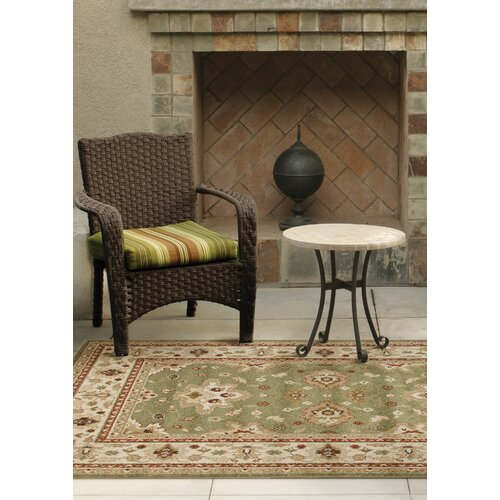 Threadbind Pehonko Green Indoor Outdoor Area Rug & Reviews
