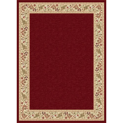 threadbind triolet red area rug reviews wayfair