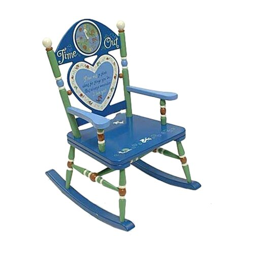 Rock A Buddies Time Out Boy Rocking Chair by Levels of Discovery