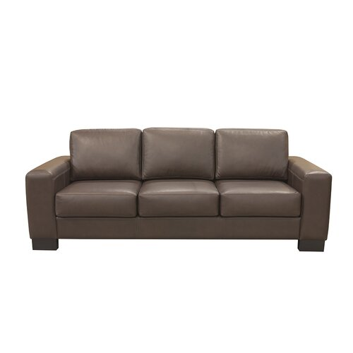 Coja Mayfair Leather Sofa Reviews Wayfair